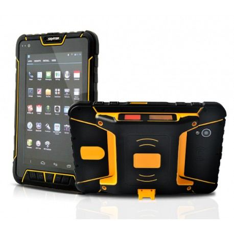 TEXX 7002 IP67 Android Tablet Rugged 4x4 - GPS + Barcode Scanner