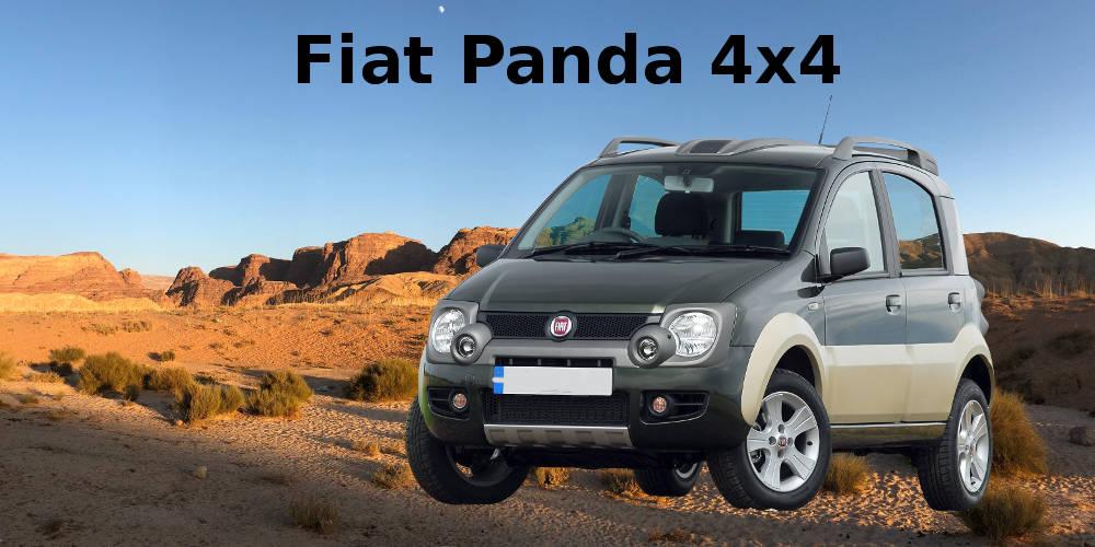 Fiat Panda 4x4 - Geländereifen