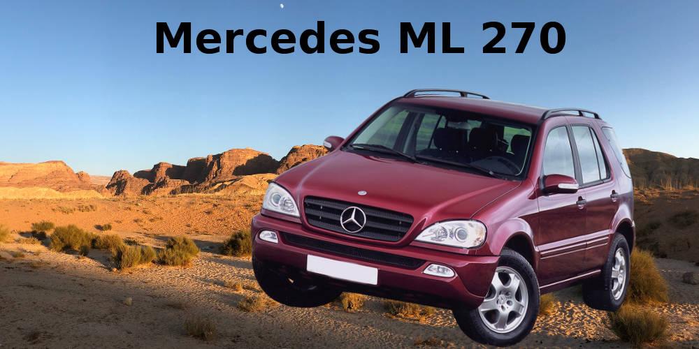 Mercedes ML 270 W163  Geländewagen