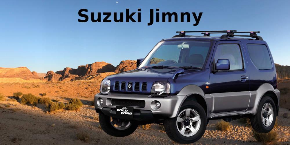 Suzuki Jimny – der legendäre leichte Geländewagen aus Japan