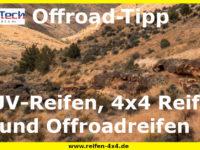 Unterschied zwischen SUV-Reifen, 4x4 Reifen und Offroadreifen