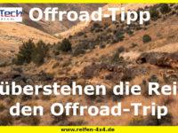 Offroad Tipp: So überstehen die Reifen den Offroad-Trip