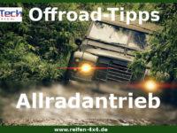 Das kleine Lexikon für die Offroadstrecke: Allradantrieb