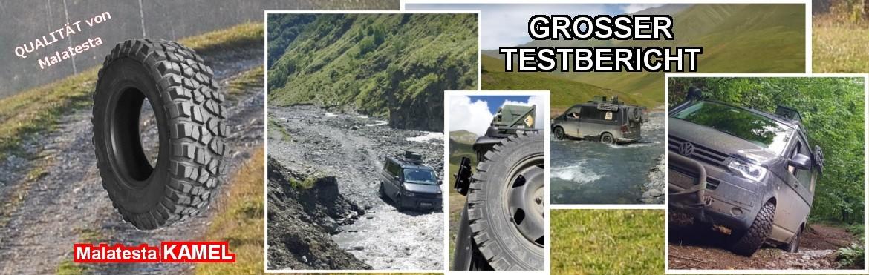 """Testbericht zu VoTech Offroadreifen """"Malatesta KAMEL"""""""
